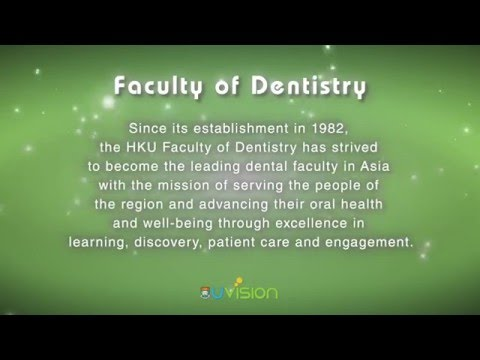 Congratulations to the Faculty of Dentistry