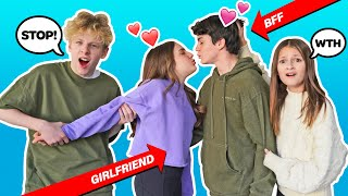 Letting My Best Friend Date My CRUSH for a day **24 HOUR CHALLENGE**💔🤦‍♂️|Lev Cameron Piper Rockelle