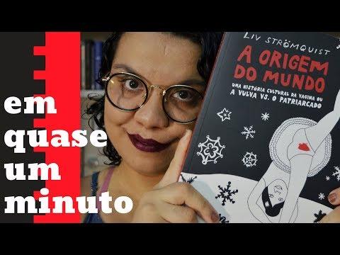 A ORIGEM DO MUNDO, de LIV STRÖMQUIST | #quadrinhominuto | #VLOGMAS 8
