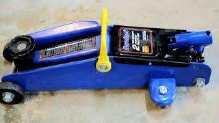 How to Repair Leaky Floor Trolley Hydraulic Jack Duralast Fix