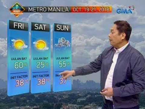 [GMA]  UB: Weather update as of 6:06 a.m. (October 19, 2018)
