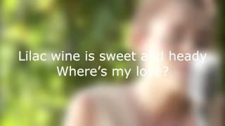 Lilac Wine - Miley Cyrus (Lyrics)