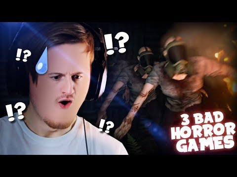 SO BAD IT'S GOOD!! (These games..) || 3 Bad Horror Games