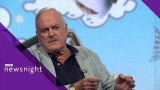 John Cleese on Brexit, newspapers and why he's leaving the UK - BBC Newsnight