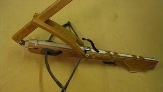 armbrust selber bauen mini armbrust selfmade 123vid. Black Bedroom Furniture Sets. Home Design Ideas