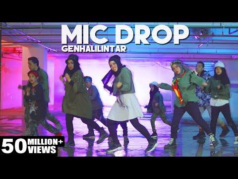 Bts                    mic drop   gen halilintar  cover   steve aoki remix  11 kids mom