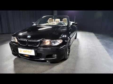 BMW 3-sarja 320 Ci Cabriolet 2d, Avoauto, Manuaali, Bensiini, BKG-598