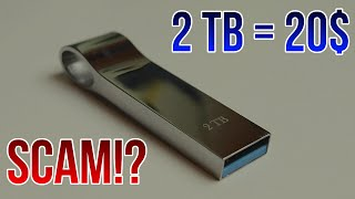 2 Terabyte USB Stick für 20€!? GEHT DAS!?!?!