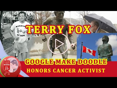 Terry Fox,Today's Google Google make Doodle honors cancer activist |Real Story