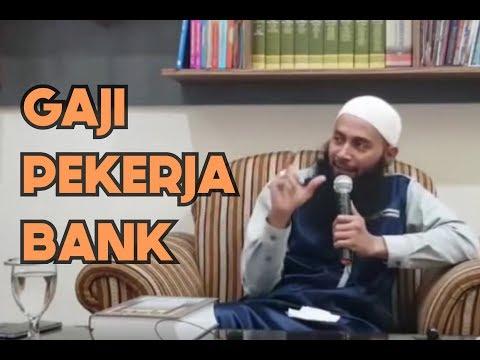 Gaji pekerja bank halal atau haram (Tanya Jawab) -Ustadz DR Syafiq Riza Basalamah MA