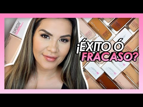 MAYBELLINE Superstay 24 hrs / Éxito o Fracaso | Mytzi Cervantes