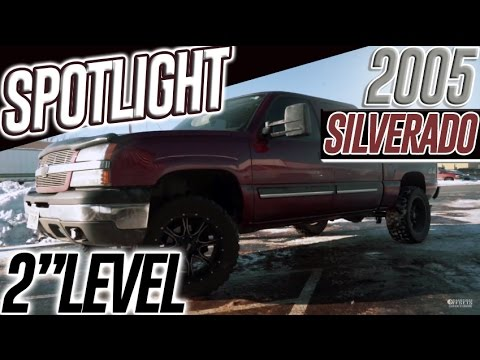 Spotlight - 2005 Chevy Silverado 1500, RC Level/Lift, 20x10's And 33's!