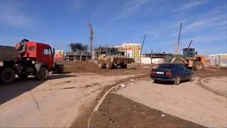 Самый молодой микрорайон Шымкента Нурсат утопает в грязи