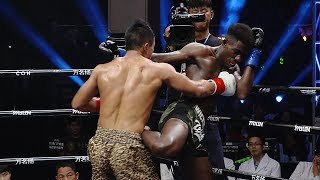 "China's violent ""King Kong"" slammed the French nationality world champion"