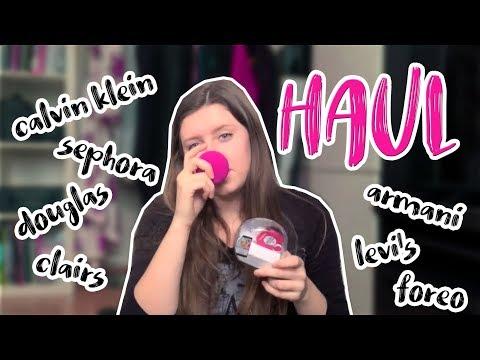 Haul kosmetika - smashbox, m.a.c, armani beauty,..