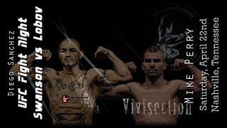 The MMA Vivisection - UFC Nashville: Swanson vs. Lobov picks, odds, & analysis