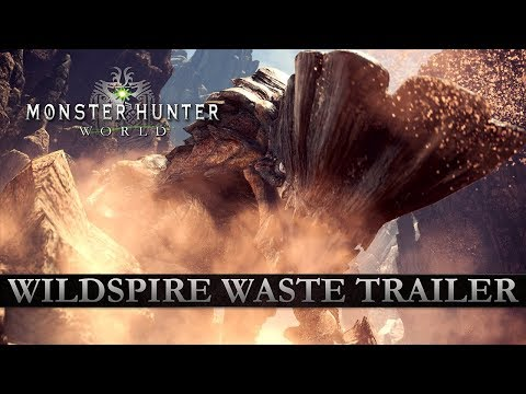 Monster Hunter: World - Wildspire Waste Trailer thumbnail