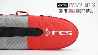 Purpose designed for streamlined dual board travel The lightest short haul cover