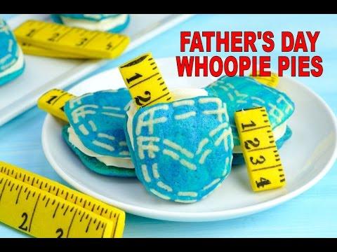 FATHER'S DAY DENIM POCKET WHOOPIE PIE, HANIELA'S