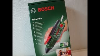 Bosch GluePen Akku Heißklebepistole