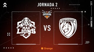 MAD LIONS E.C. VS DRAGONS E.C. #SUPERLIGAORANGECSGO2