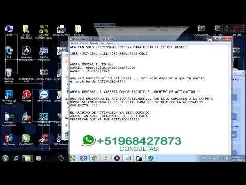 Reset Epson L3110 - ECC - смотреть онлайн на Hah Life