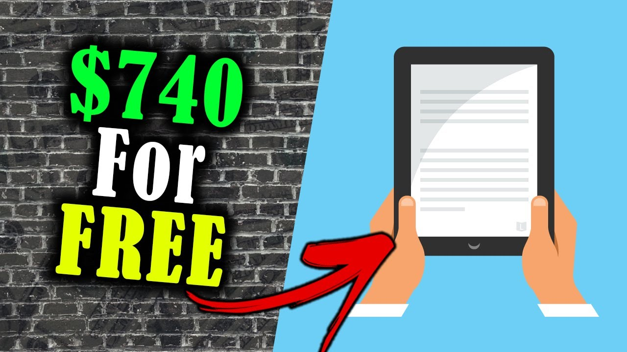 Make $740 FREE OF CHARGE Downloading E-books (Earn Money Online) thumbnail