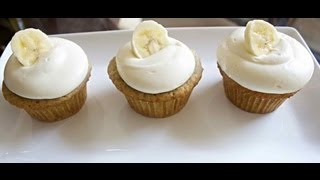 Banana Cupcakes - Cooked By Julie -  Episode 45