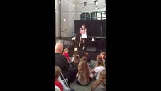 Christina Aguilera You Lost Me cover by Eve DeVault Open Mic Night