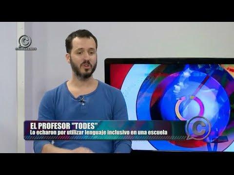 """VIDEO En Ciuidadanos, el profesor echado por usar la palabra """"Todes"""" dijo su verdad"""