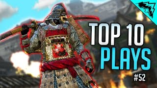 1v4 PARRY CLUTCH - For Honor TOP 10 Plays of the Week (Bonus Plays 52)