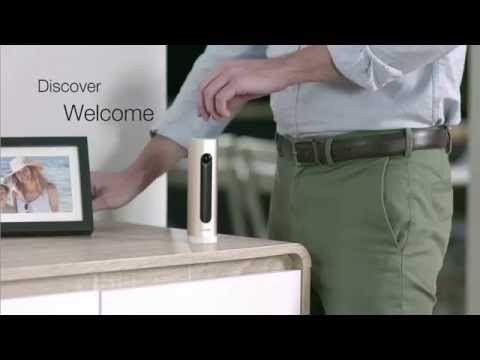 Netatmo Welcome - Smart-Home-Kamera (1920 x 1080 Pixels (Full HD))