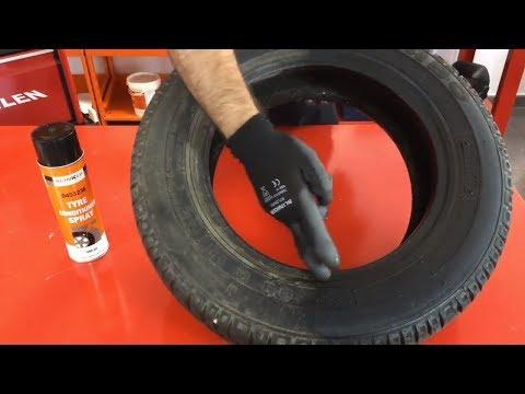 Cómo limpiar las ruedas del coche | ESPUMA RENOVADORA DE NEUMÁTICOS