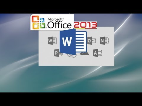 Word 2013 Tutorial: A Comprehensive Tutorial on Word – Work Effectively