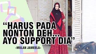 Mulan Jameela Support Tutorial Make Up Karya Rahmawati Kekeyi Putri