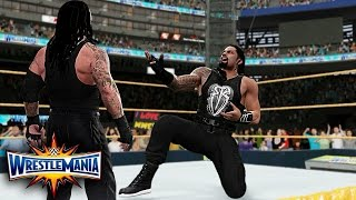 wwe-2k17-wrestlemania-33-roman-reigns-vs-undertaker