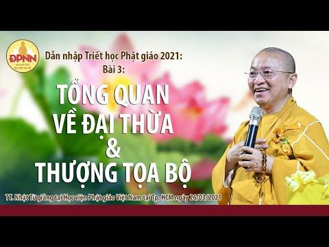 Tổng quan về Đại thừa và Thượng tọa bộ l Dẫn nhập Triết học Phật giáo