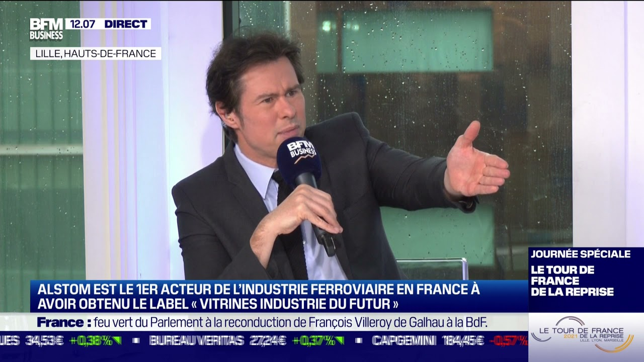 Olivier Baril (Alstom) : Alstom à l'heure de la transition énergétique