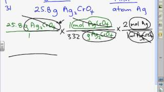 P. 326 31 A  Given Grams Of Ag2CrO4, Find Atoms Of Ag