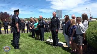 Farmington Police Department Retirement Ceremony - Brandon Lane & Dave Monfils