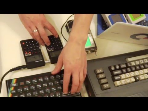 LukHash - Space (Live Jam Session with Gameboy, ZX Spectrum, C64 & Pocket Operator PO-20 & PO-28)