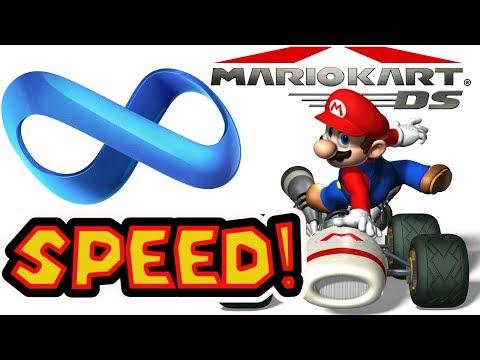 Mario Kart DS Infinite Speed Hack On All Tracks! Road To 20 Sponsors