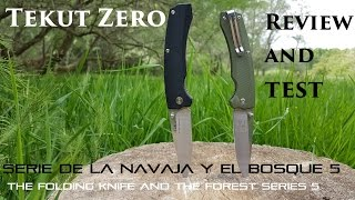 TEKUT ZERO - REVIEW AND TEST- The best EDC knife of the moment