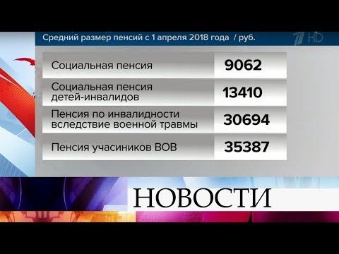 С 1 апреля в России проиндексируют социальные пенсии.