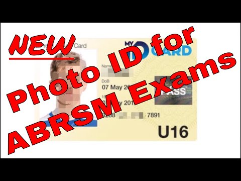 New Candidate ID Requirement for ABRSM Exams - YouTube