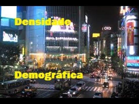 Densidade demográfica \ Geografia de A a Z