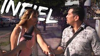 MUJERES PILLADAS SIENDO INFIELES EN MEDIO DE LA CALLE! - dooclip.me