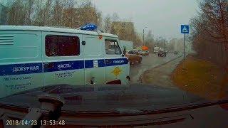 Расстрел машины активиста