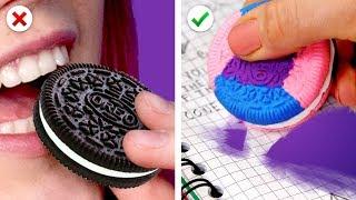 Transform! 10 Fun School Supplies Ideas and More DIY School Hacks