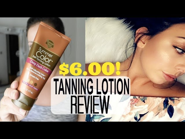 $6 Tanning Lotion REVIEW! Banana Boat Self-Tanner Application & Review